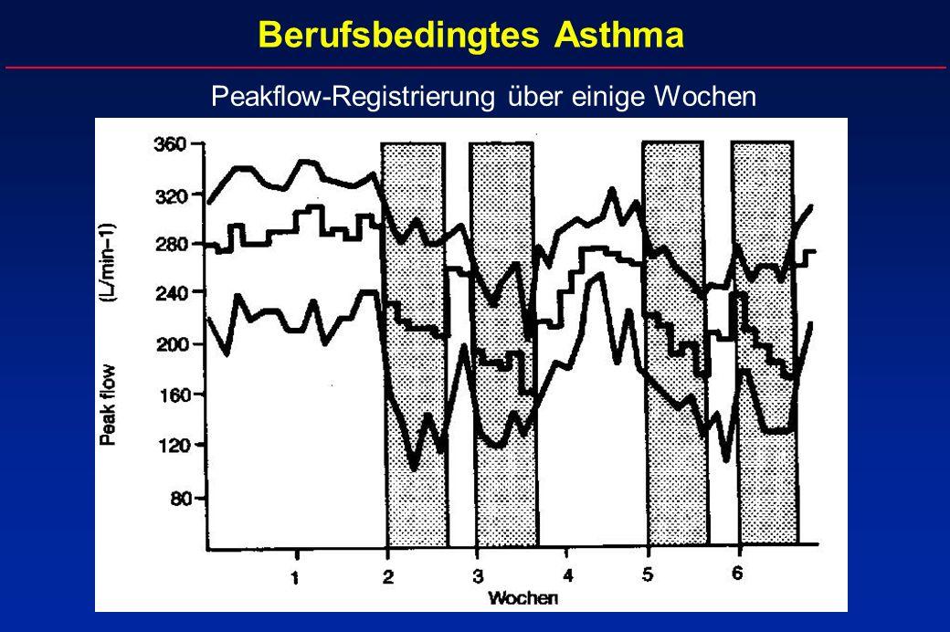Berufsbedingtes Asthma
