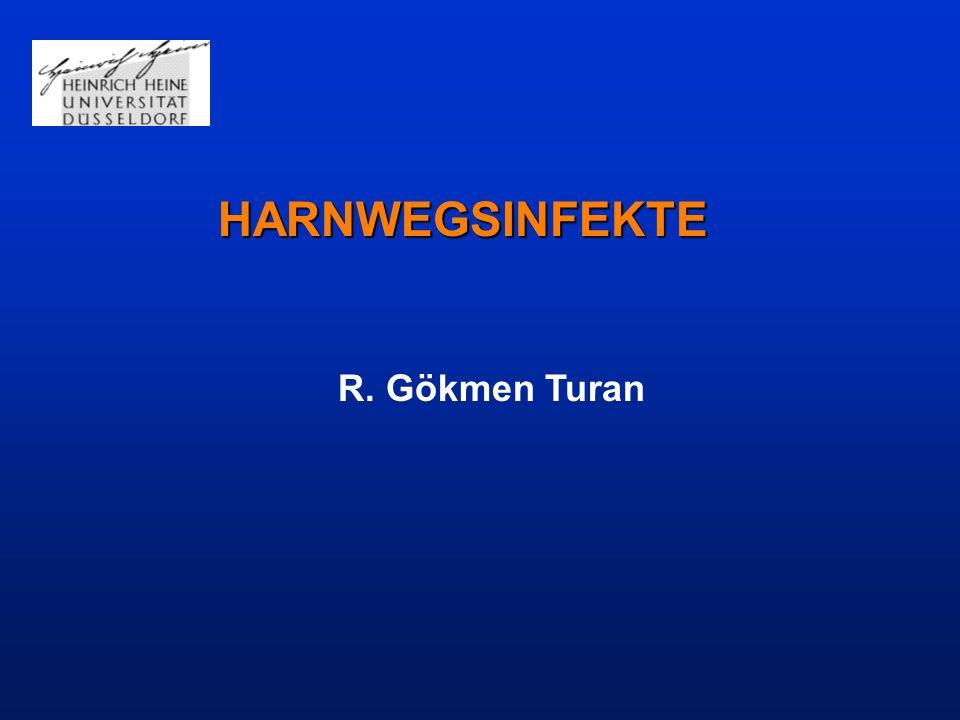 HARNWEGSINFEKTE R. Gökmen Turan