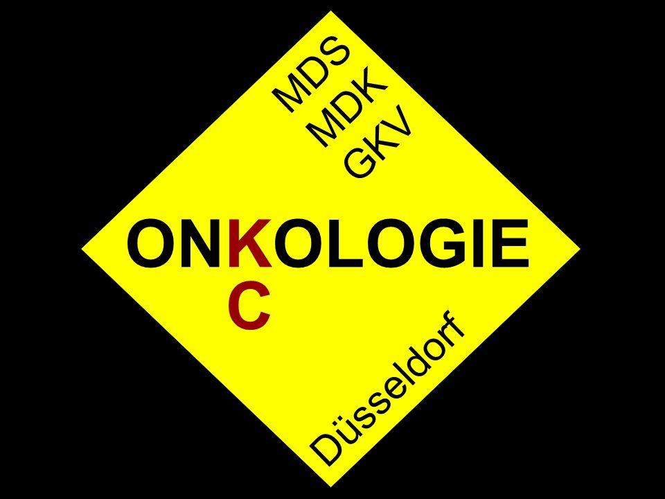 MDS MDK GKV ONKOLOGIE C Düsseldorf