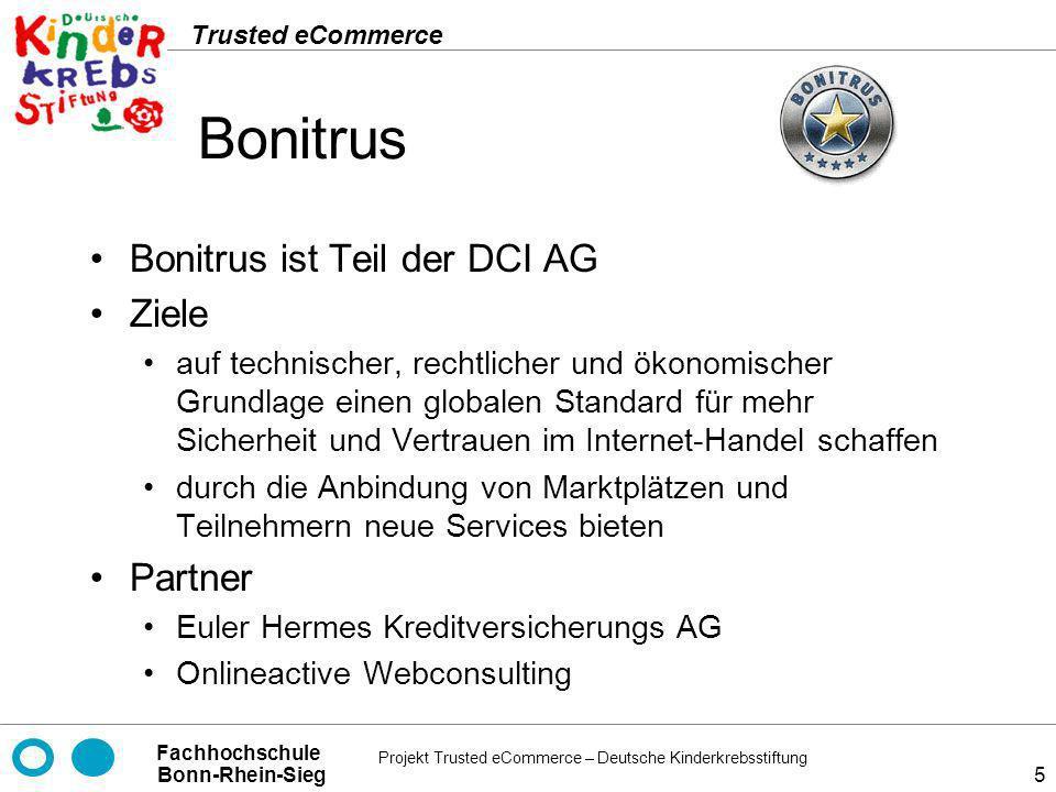 Bonitrus Bonitrus ist Teil der DCI AG Ziele Partner