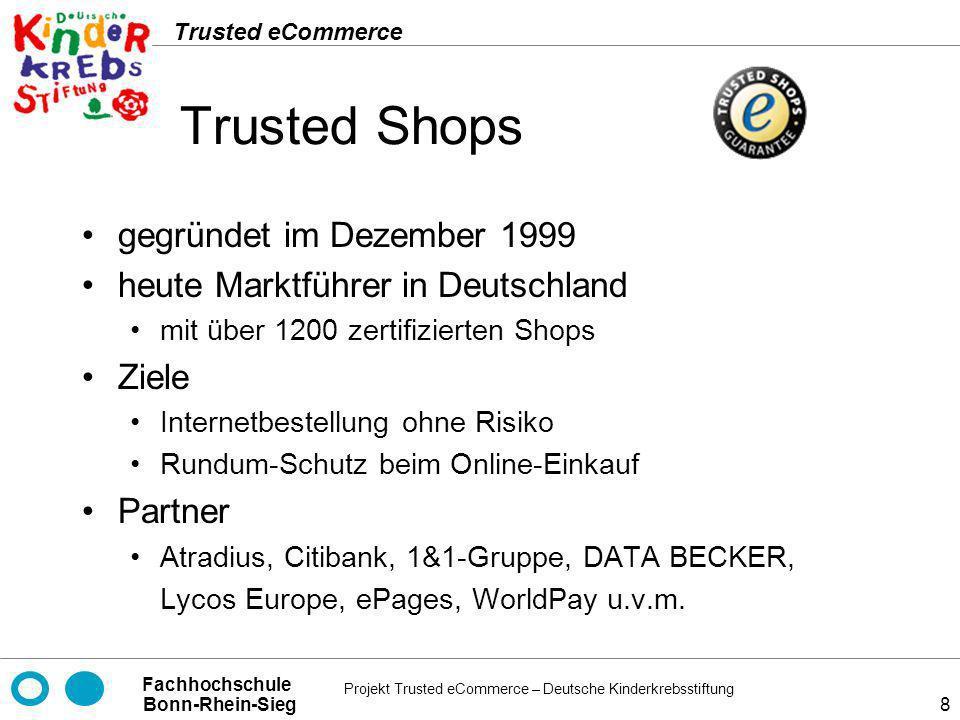 Trusted Shops gegründet im Dezember 1999