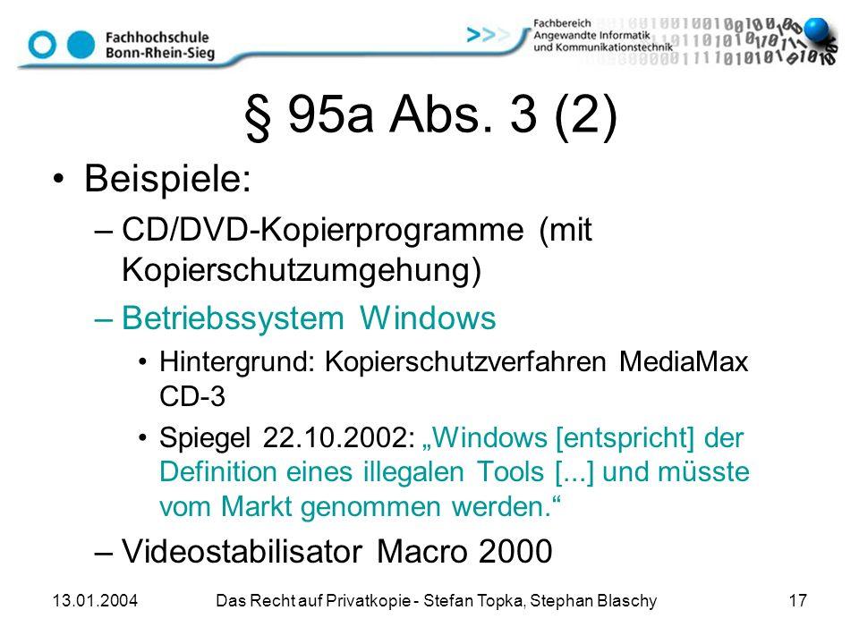 Das Recht auf Privatkopie - Stefan Topka, Stephan Blaschy