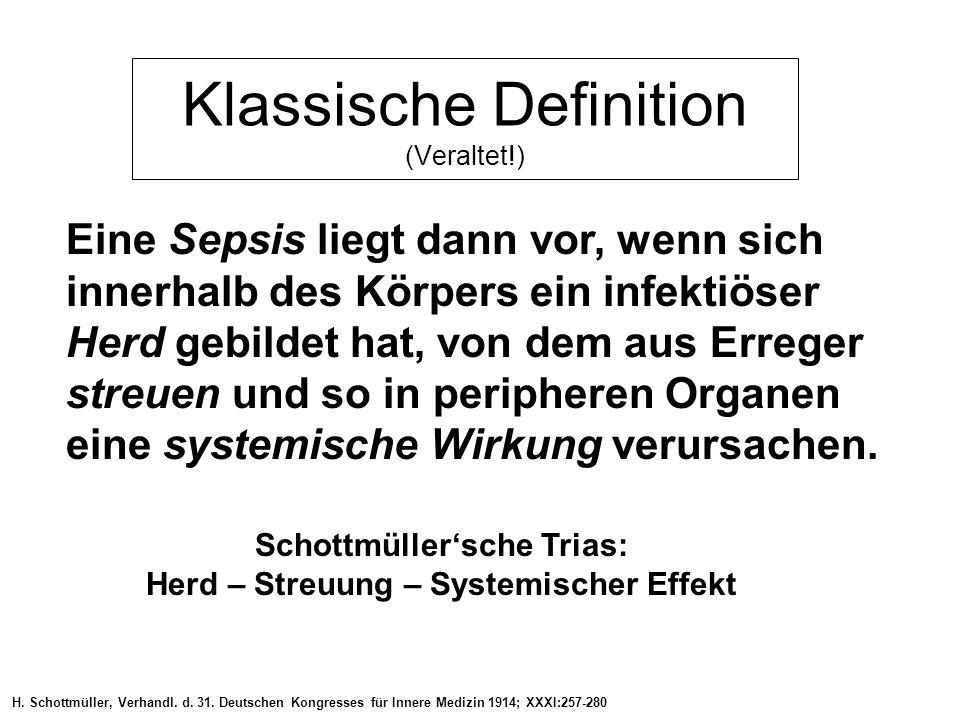 Klassische Definition (Veraltet!)