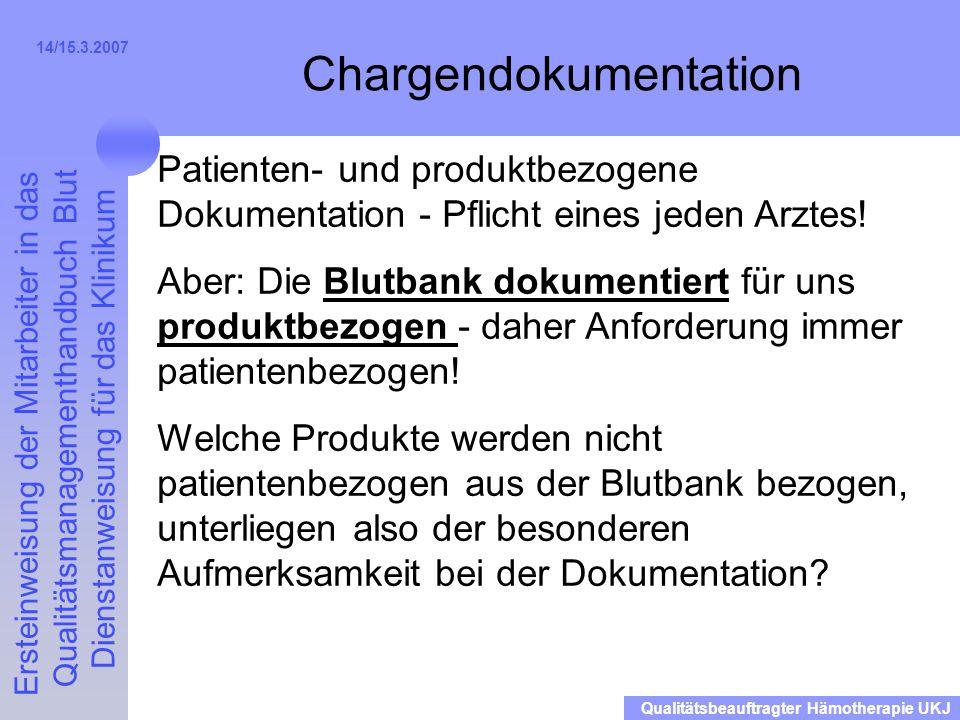 Chargendokumentation