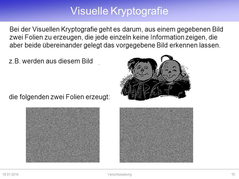 Visuelle Kryptografie