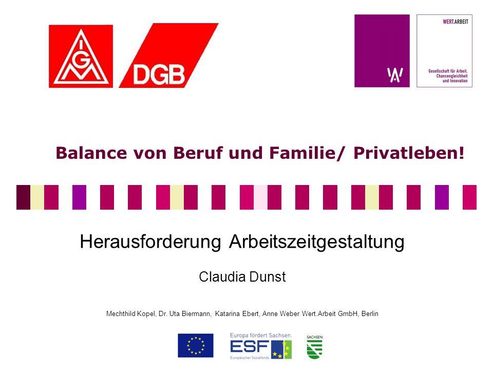 Balance von Beruf und Familie/ Privatleben!