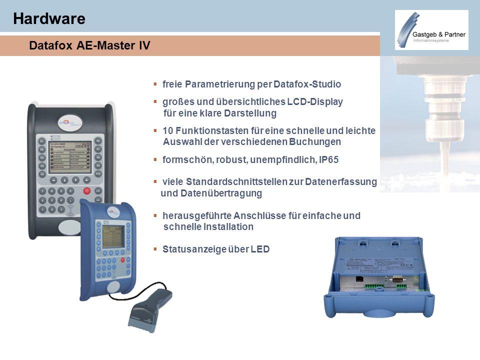 Hardware Datafox AE-Master IV freie Parametrierung per Datafox-Studio