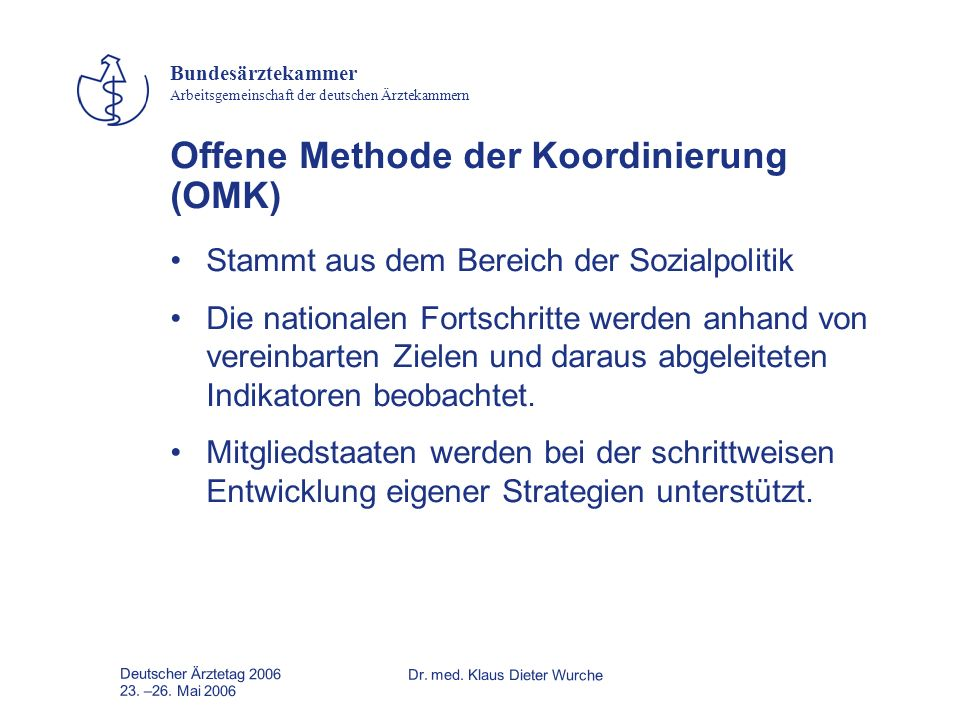 Offene Methode der Koordinierung (OMK)