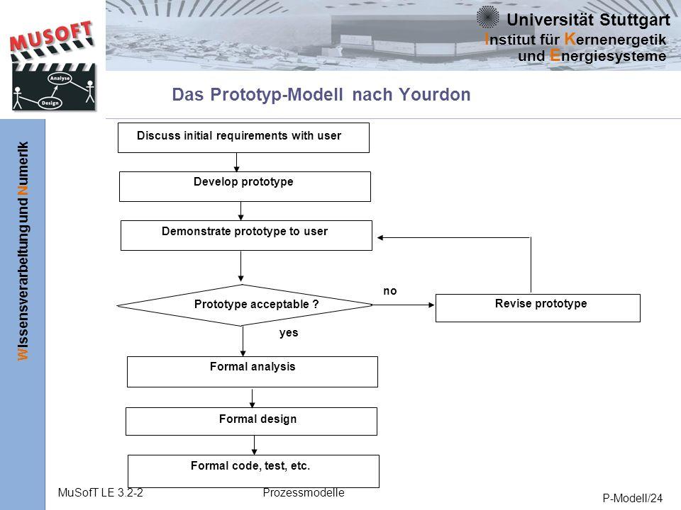 Das Prototyp-Modell nach Yourdon