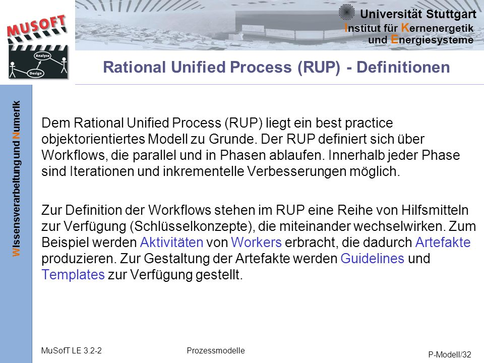 Rational Unified Best Practices (RUP): A Primer for the Project Manager