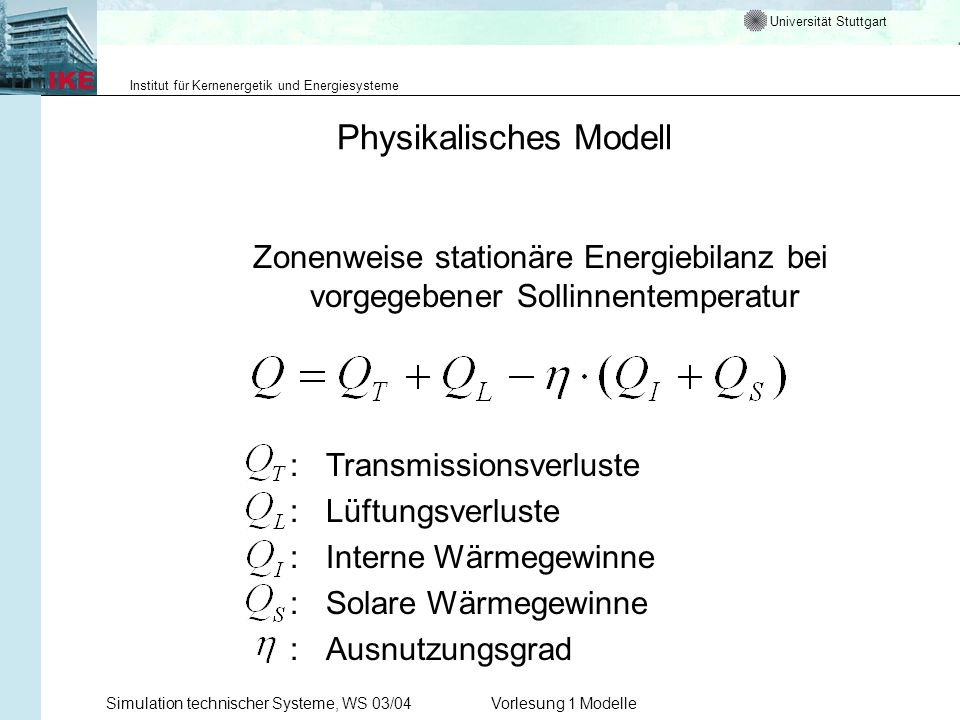 Physikalisches Modell
