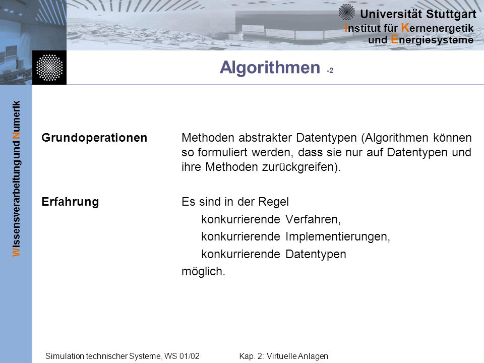 Algorithmen -2