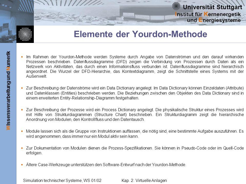 Elemente der Yourdon-Methode
