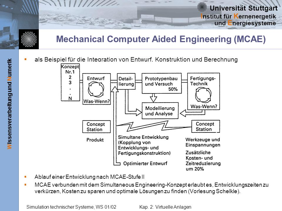 Mechanical Computer Aided Engineering (MCAE)