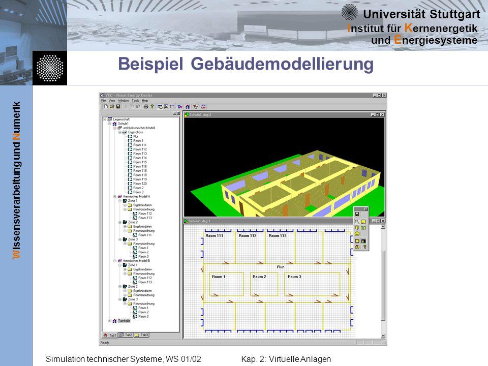 Beispiel Gebäudemodellierung