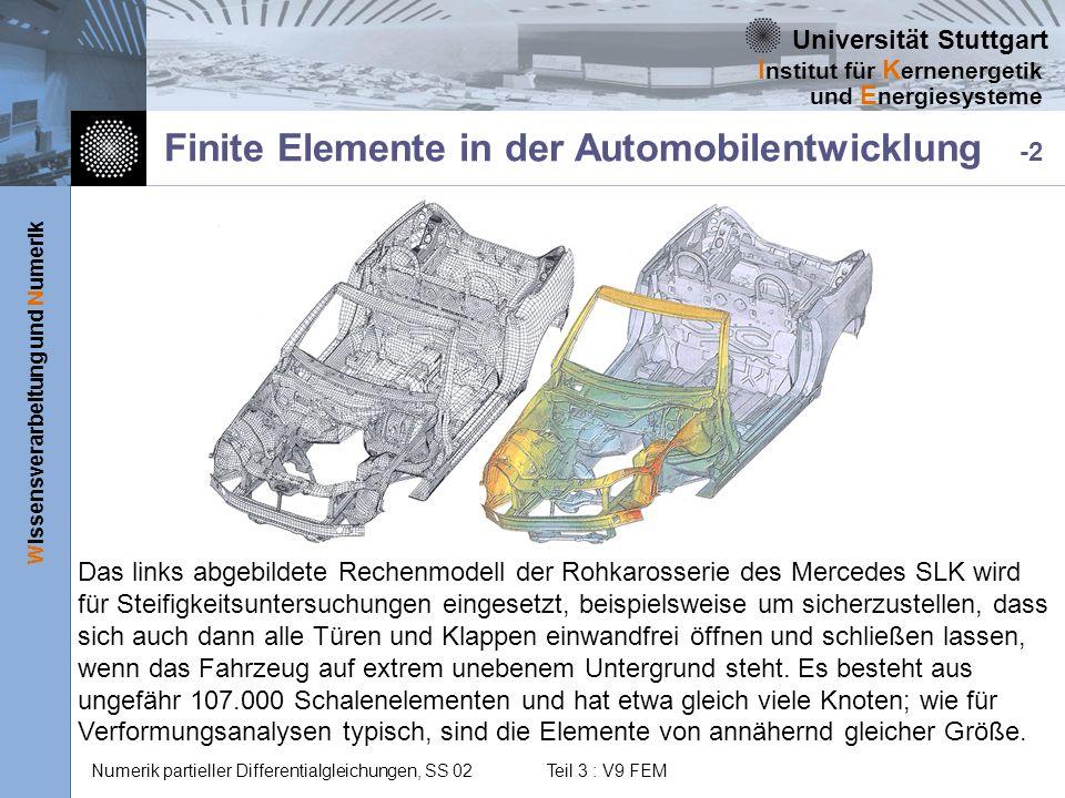 Finite Elemente in der Automobilentwicklung -2