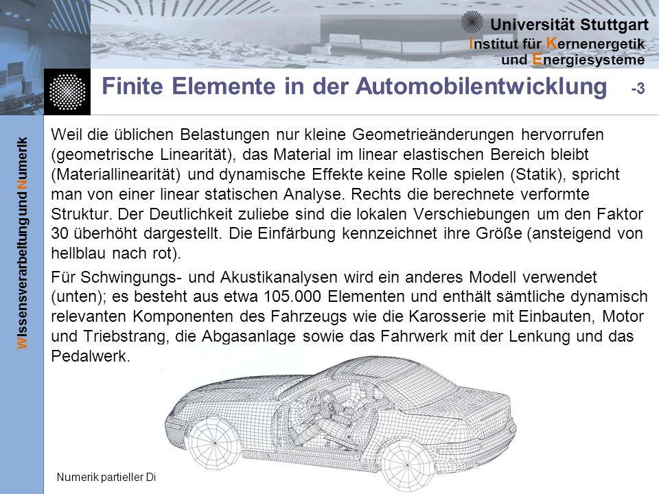 Finite Elemente in der Automobilentwicklung -3
