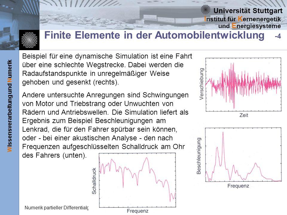 Finite Elemente in der Automobilentwicklung -4