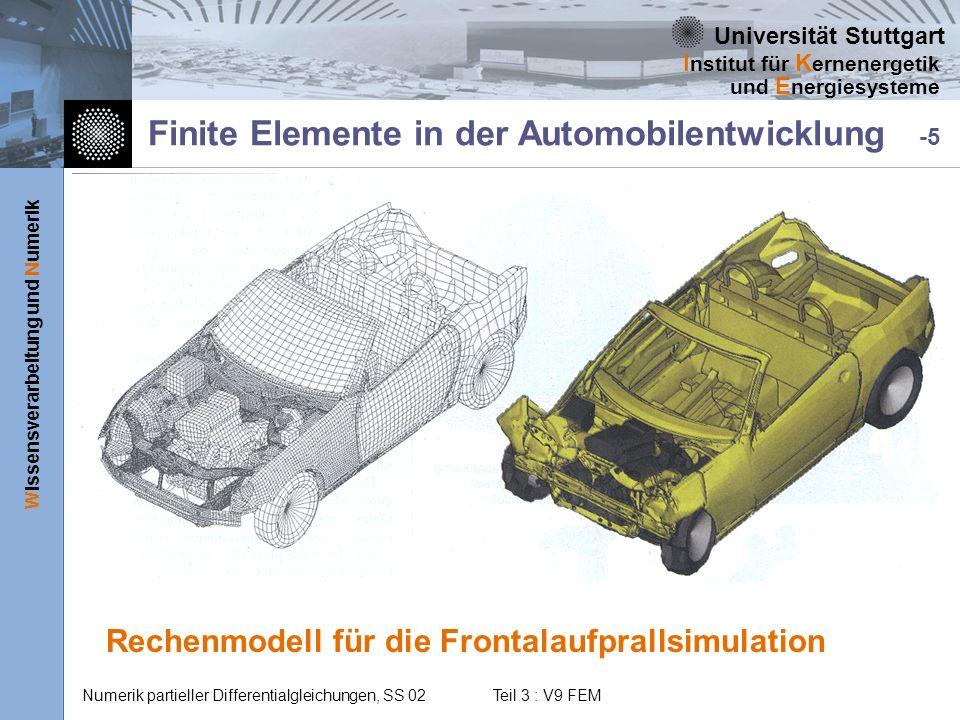 Finite Elemente in der Automobilentwicklung -5