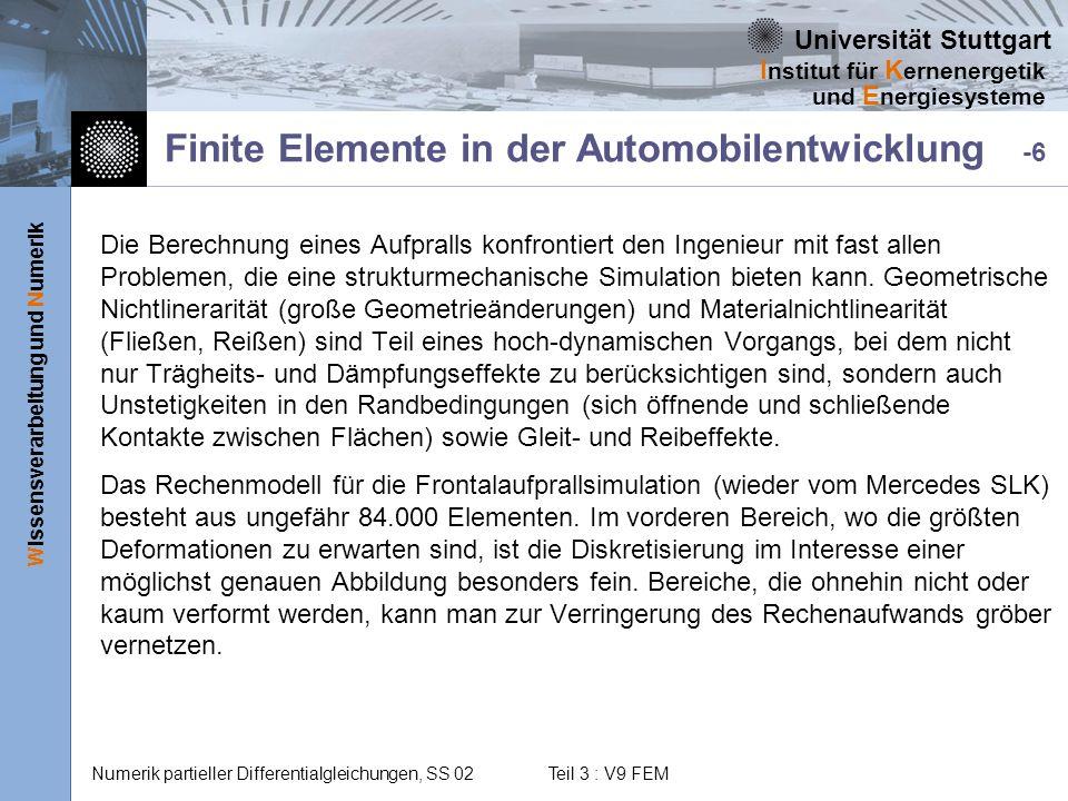 Finite Elemente in der Automobilentwicklung -6