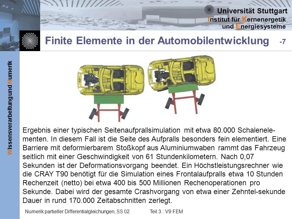 Finite Elemente in der Automobilentwicklung -7
