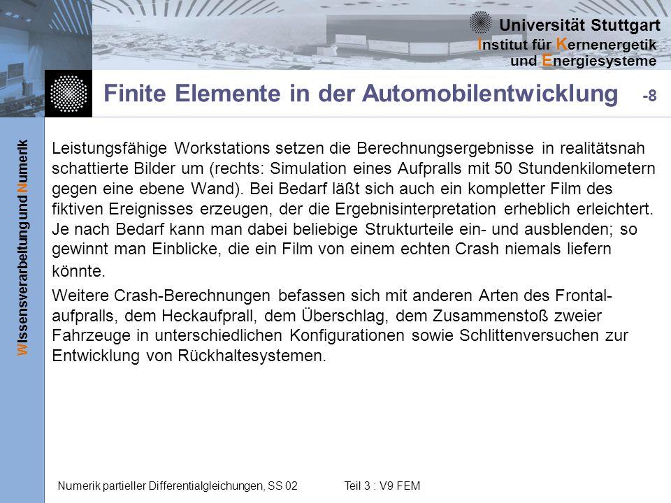 Finite Elemente in der Automobilentwicklung -8