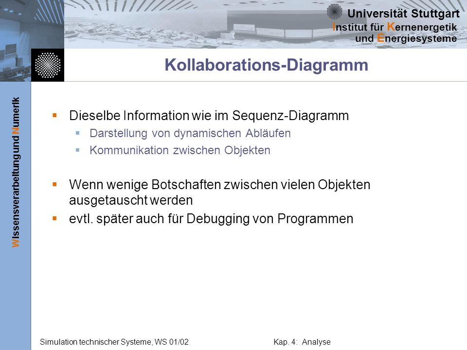 Kollaborations-Diagramm