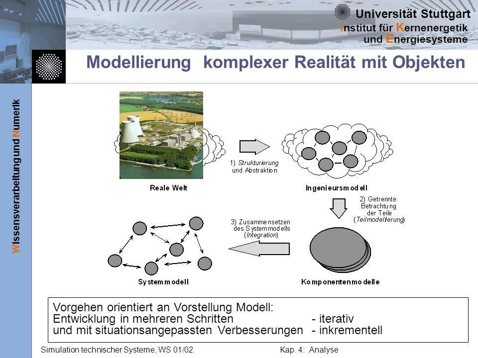 Modellierung komplexer Realität mit Objekten
