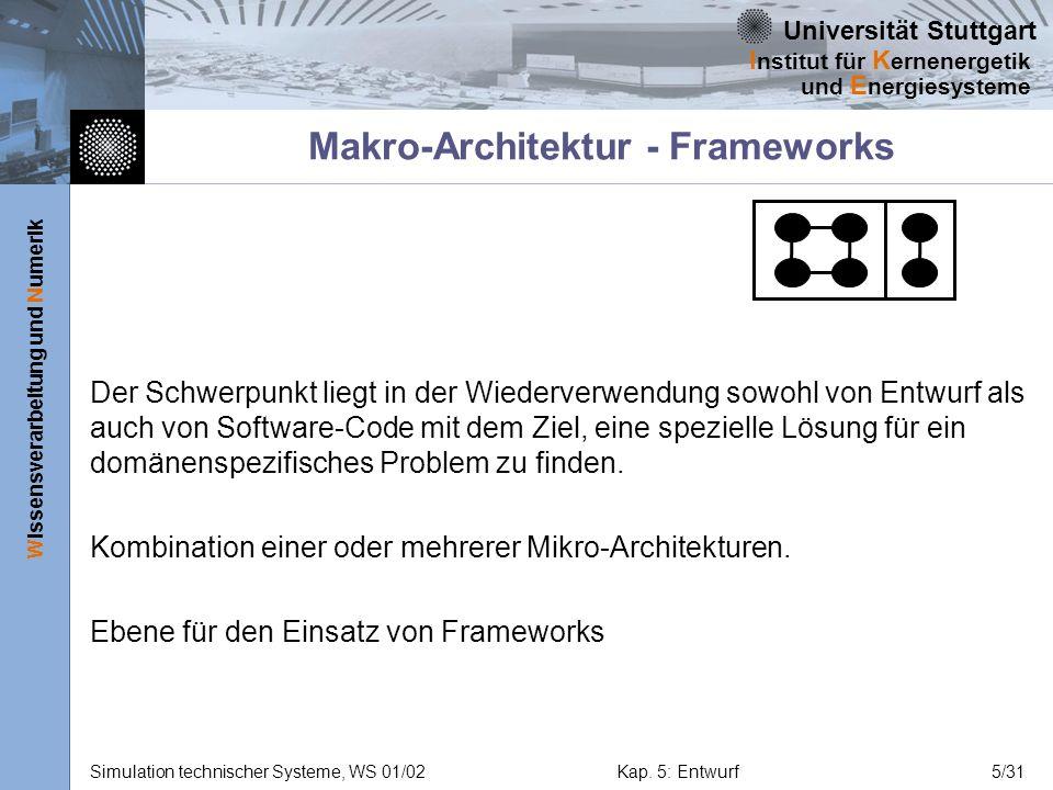 Makro-Architektur - Frameworks