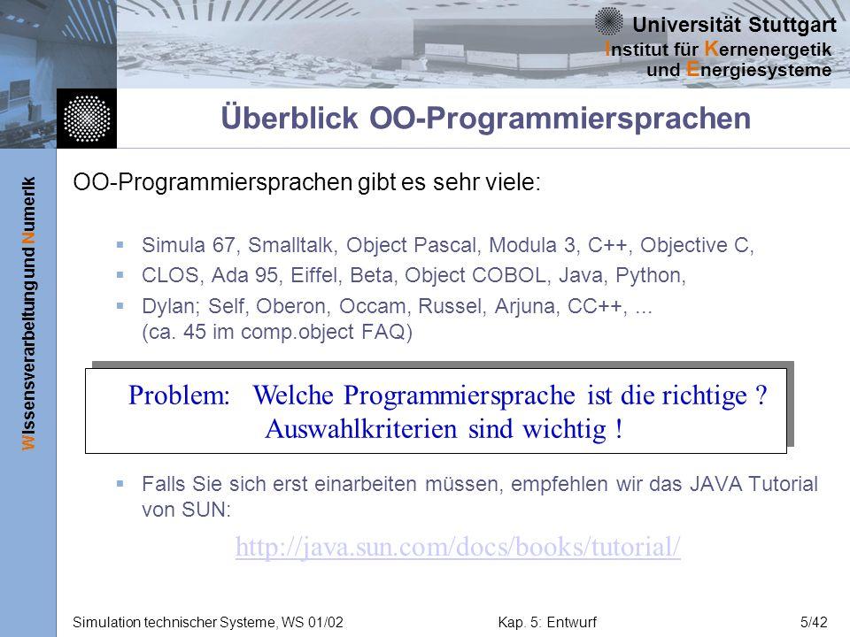 Überblick OO-Programmiersprachen