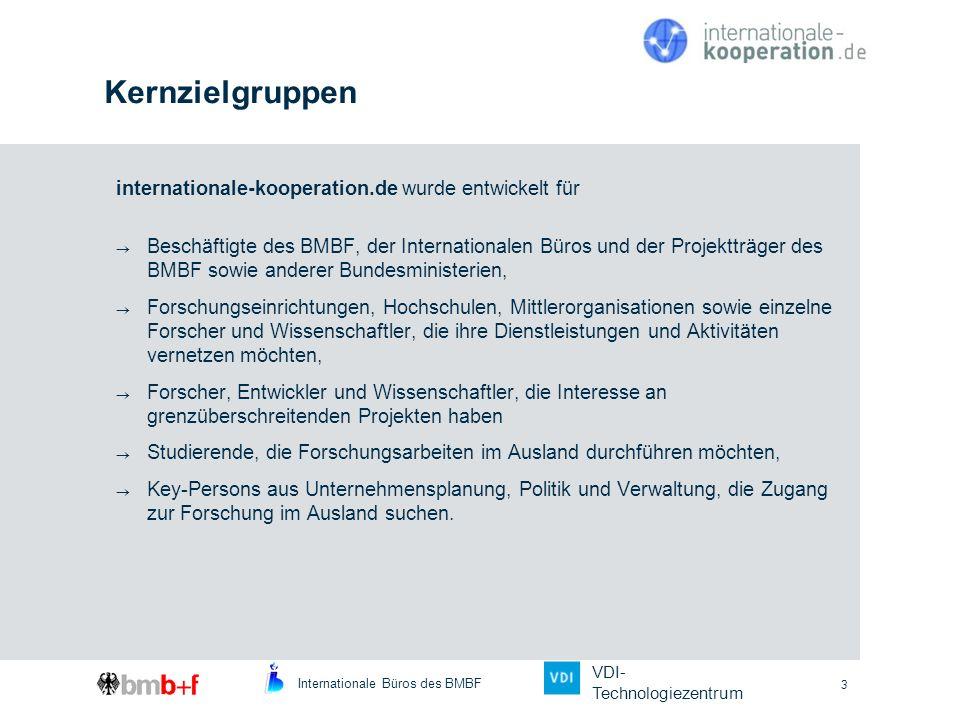 Kernzielgruppen internationale-kooperation.de wurde entwickelt für