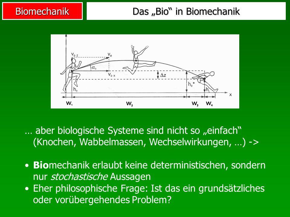 "Das ""Bio in Biomechanik"