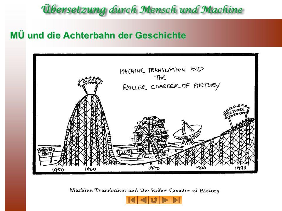 MÜ und die Achterbahn der Geschichte