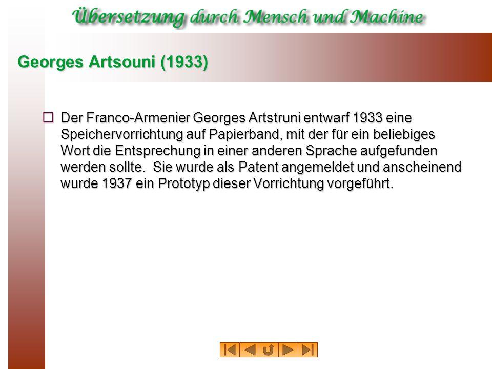 Georges Artsouni (1933)