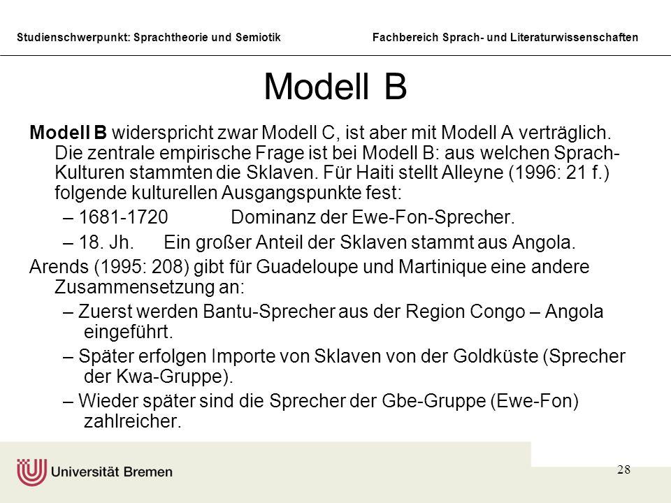 Modell B