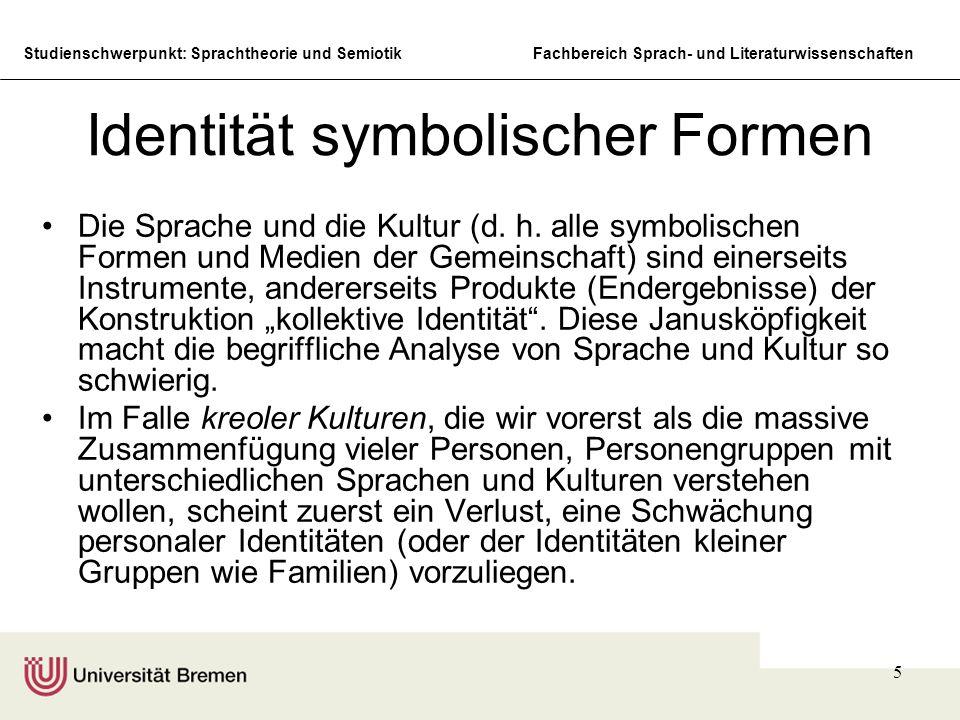 Identität symbolischer Formen