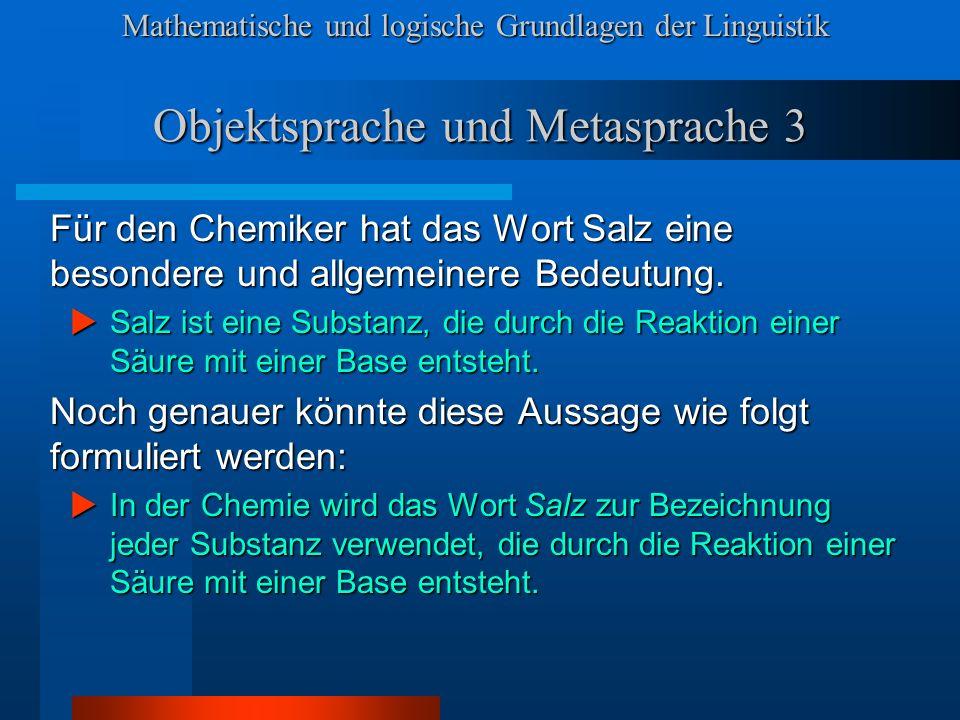 Objektsprache und Metasprache 3