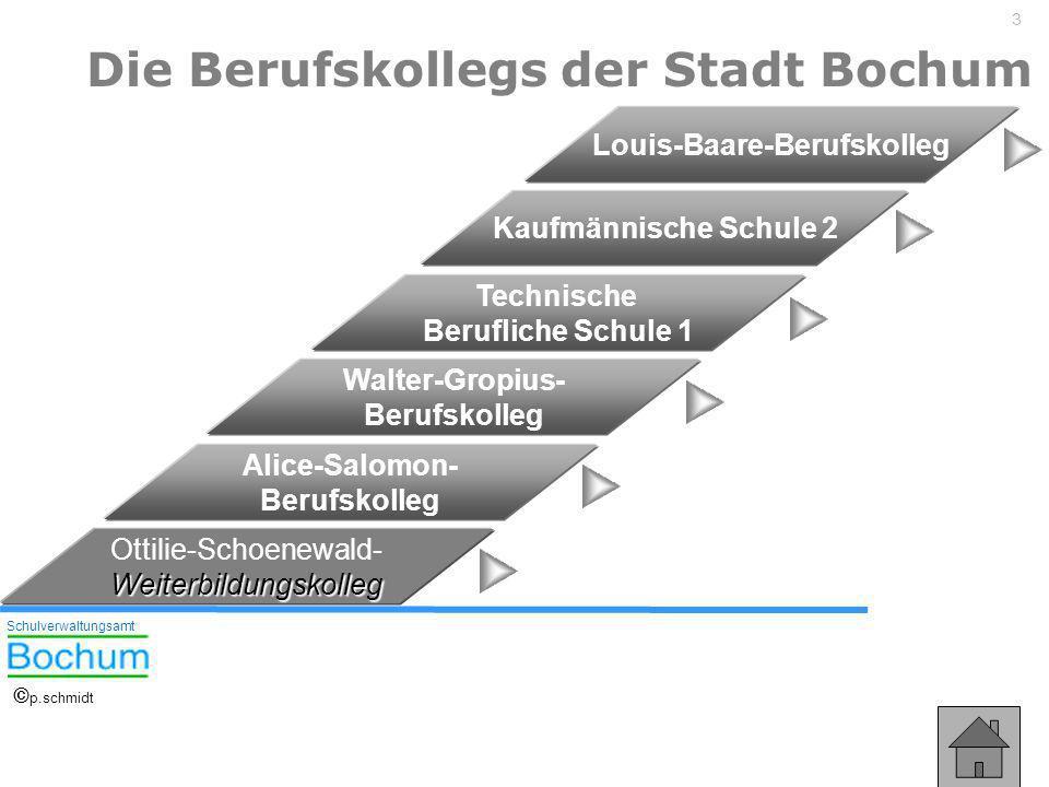 Die Berufskollegs der Stadt Bochum Louis-Baare-Berufskolleg
