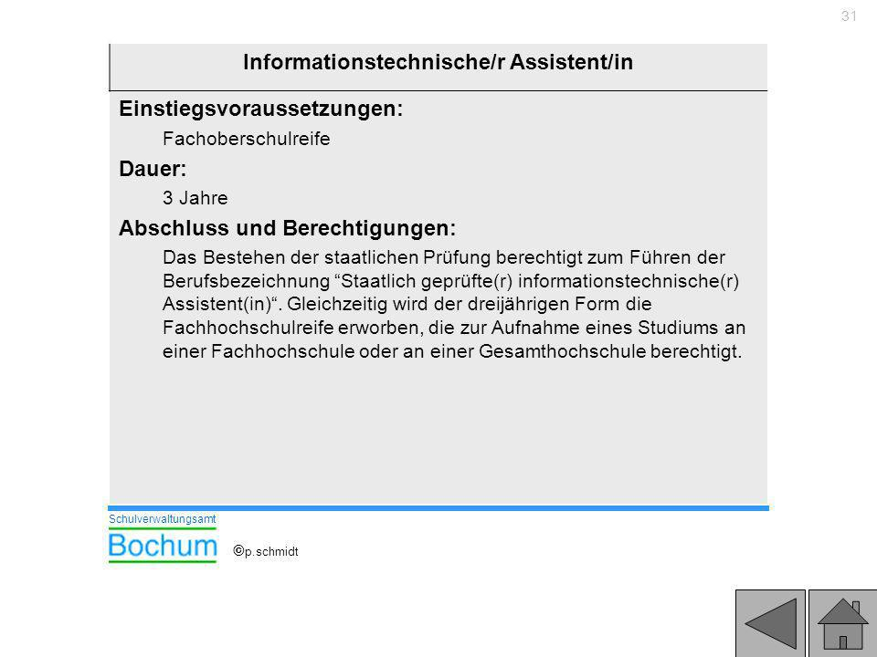 Informationstechnische/r Assistent/in