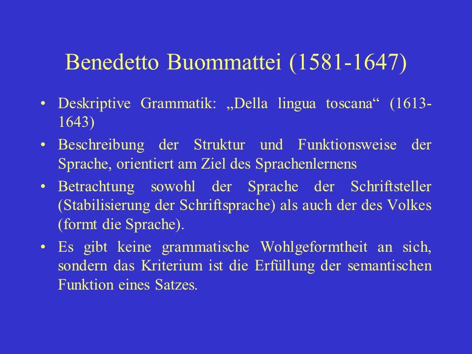 Benedetto Buommattei (1581-1647)