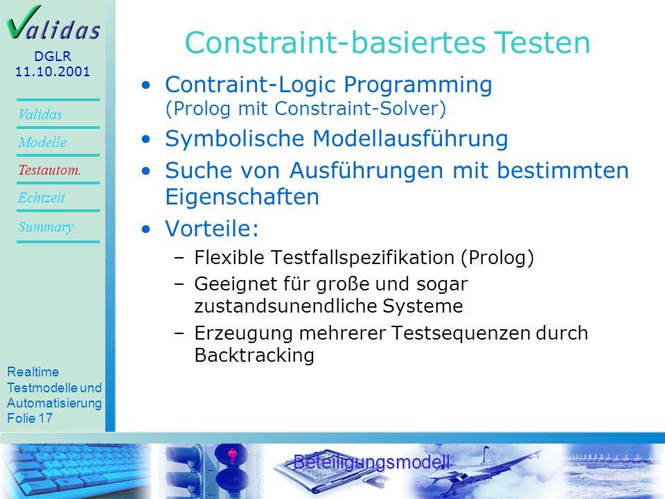 Constraint-basiertes Testen