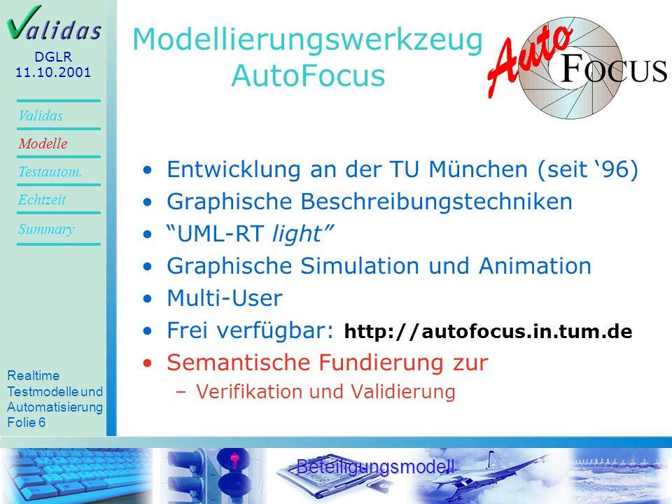 Modellierungswerkzeug AutoFocus