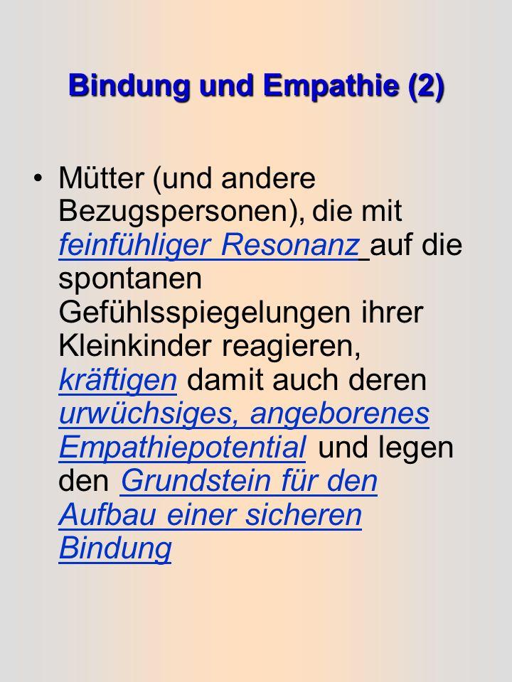Bindung und Empathie (2)