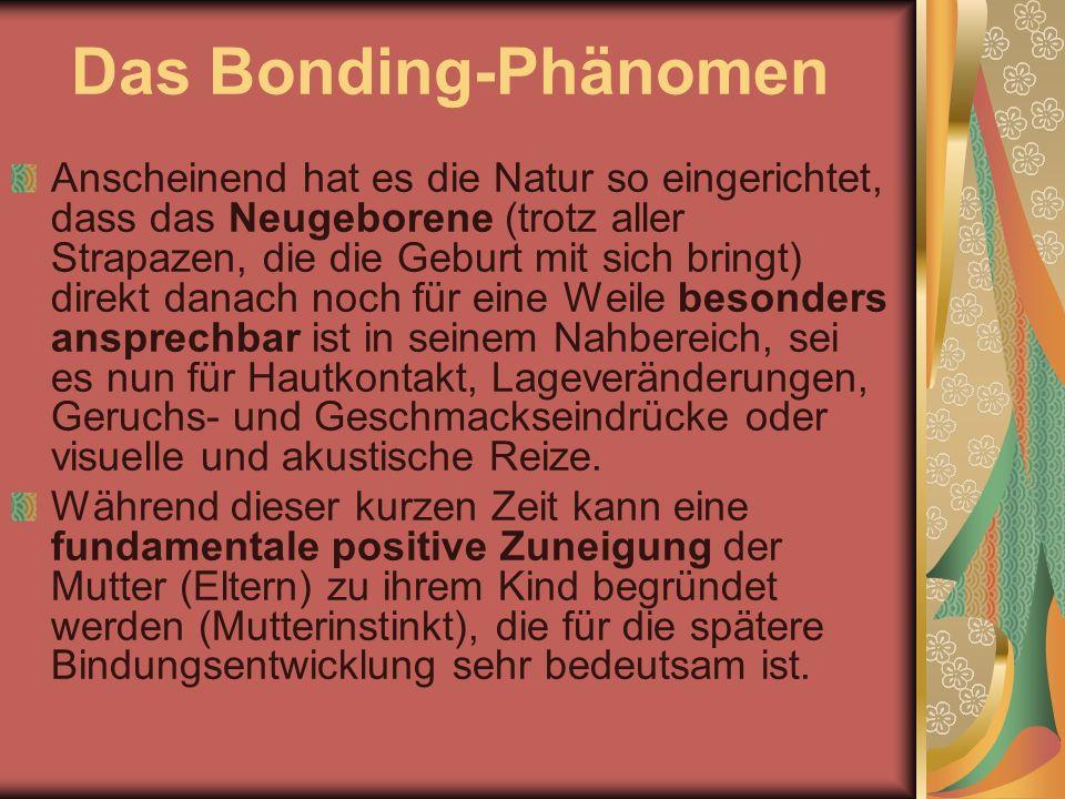 Das Bonding-Phänomen