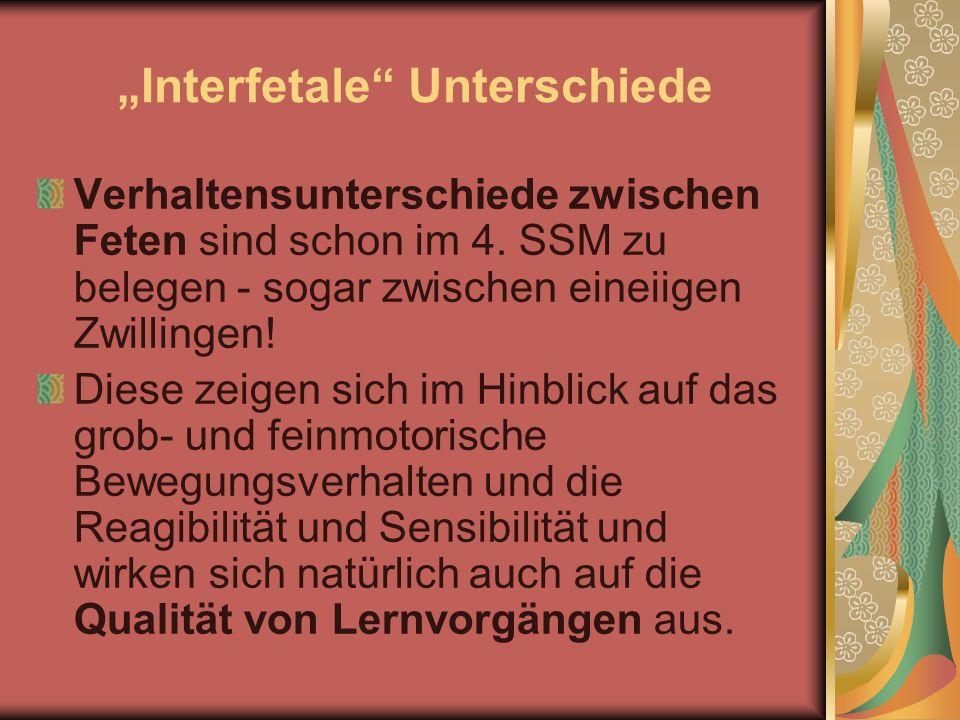 """Interfetale Unterschiede"