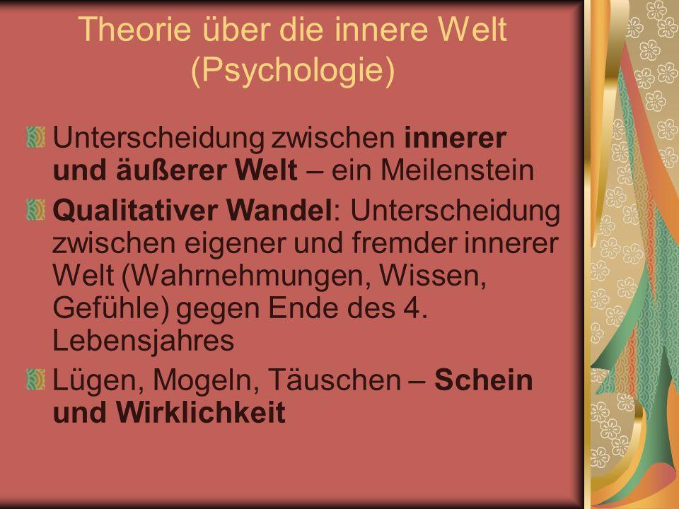 Theorie über die innere Welt (Psychologie)