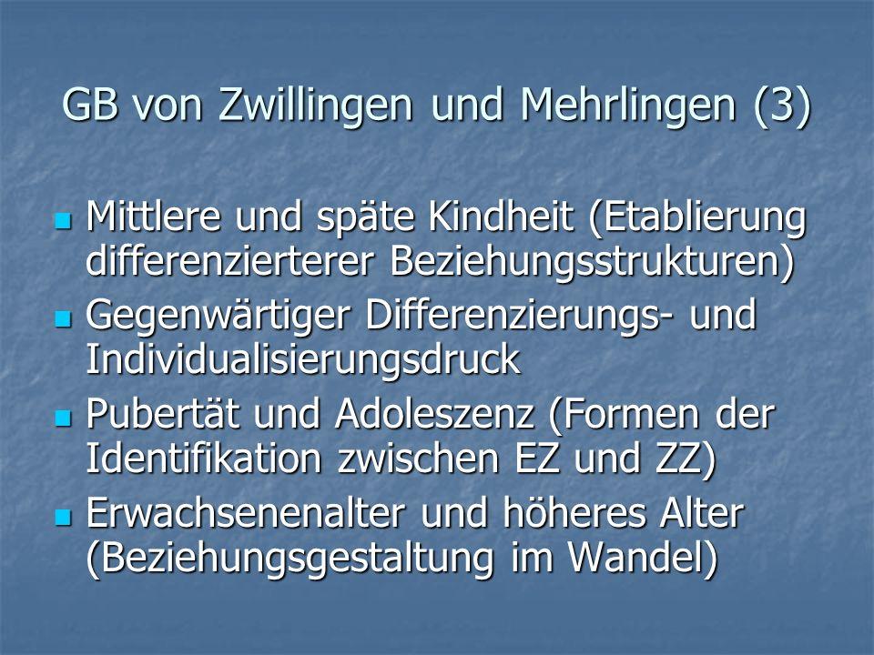 GB von Zwillingen und Mehrlingen (3)