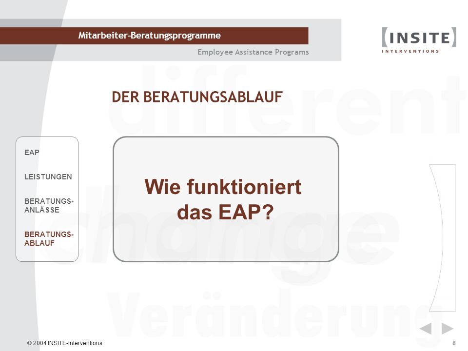 Wie funktioniert das EAP