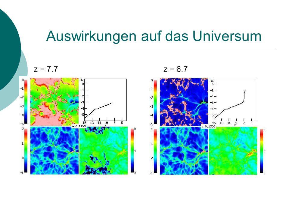 Auswirkungen auf das Universum