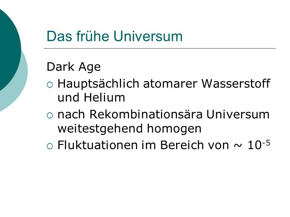 Das frühe Universum Dark Age